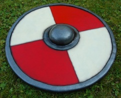 "Viking esqe 24"" shield/buckler"