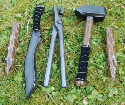 Small stuff, with the hammer & tongs being for my blacksmith character @ FnH