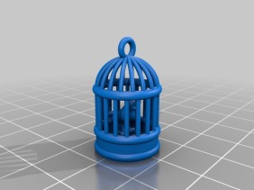 3D render of print