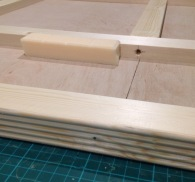 25mm pine strip edging